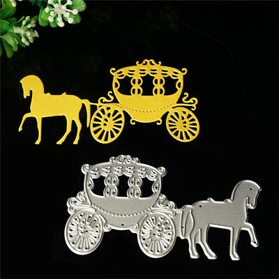 Carriage Dies Metal Cutting Stencil Scrapbooking Embossing Paper Card Craft DIY