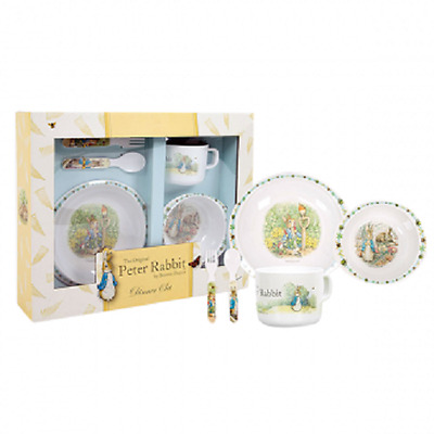 Peter Rabbit Classic Five (5) Piece Dinner Set Beatrix Potter
