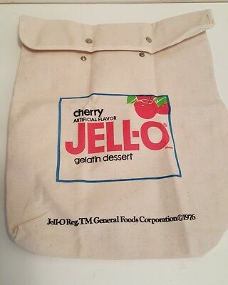 Vintage Jell-O Canvas Backpack