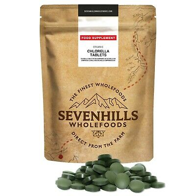 Sevenhills Wholefoods Organic Chlorella Tablets