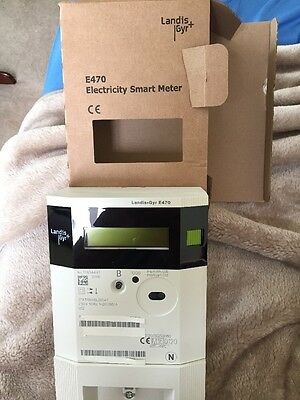 Electric Meter Brand New Landis + Gyr E470 At A Bargain Price