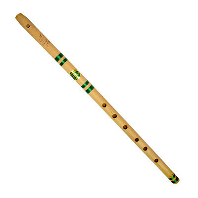Traditional Wooden Flute Bamboo-Bansuri-C Tone Décor Musical Instrument