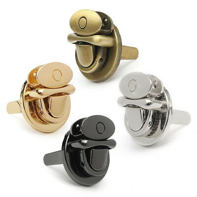 Metal Round Shape Clasp Turn Lock Twist Lock for DIY Handbag Bag Purse Hardware