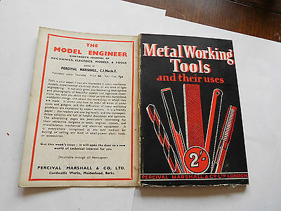 *antique Percival Marshall 1St  Book On Metal Working Tools And Their Uses
