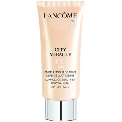 Lancome City Miracle CC Cream Makeup 30ml 02 Peau De Peche New - Sealed Box