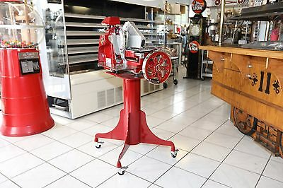 BERKEL PROSCIUTTO SLICER W/ 12IN KNIFE - 300M with Stand