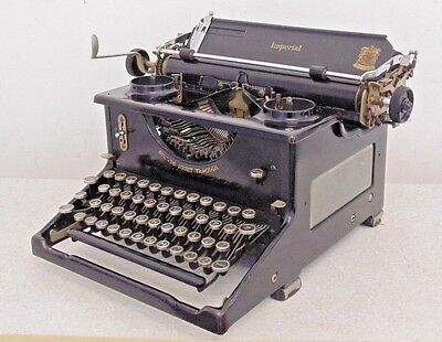 Vintage Imperial 50 Manual Typewriter 1930s 1940s Used Collectable Stunning