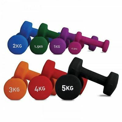 Dumbbell - Single Hand Weight Home Gym Fitness Training 1 2 3 4 5 KG