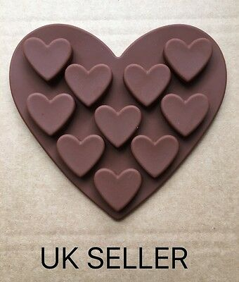 Silicone Mould Heart Shape Ice Cube Tray/cake Mould