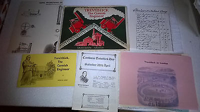 Camborne Trevithick Day Programme Pack Loads of Contents Smerdon Merry Lodenek