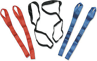"""Parts Unlimited Tie-Down Extensions Black 1"""" W Extension 