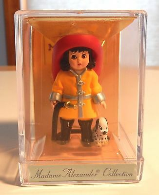 Hallmark Merry Miniatures Madame Alexander Fire Fighter Wendy 1997 New