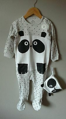 💟baby Girls**next** Sleepsuit/ All In One/12-18 Months**bnwt**