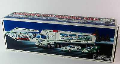 Hess Toy Truck and Racers 1997 NOB
