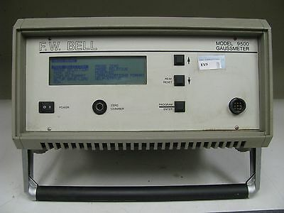 F.W. Bell Model 9500 Gaussmeter - No Probes included - EV9
