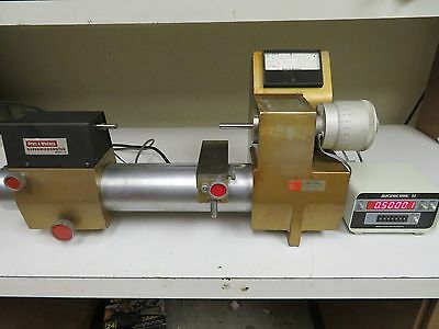"Pratt & Whitney Digital Measuring Machine Supermicrometer - 0-10""/.00001"""