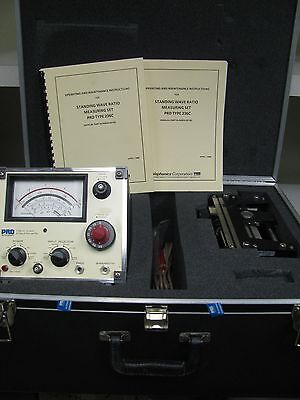 PRD Instrument 232 Low Frequency Slotted Section Carriage 277D Attenuation Meter