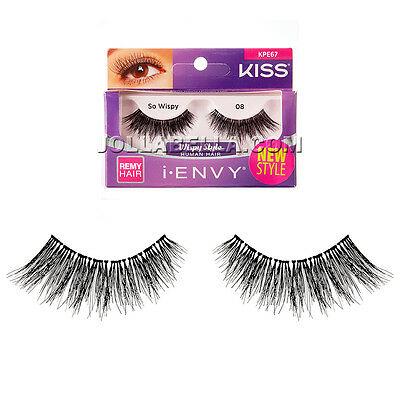 a83e50706be i Envy Kiss 100% Remy Human Hair Natural Looking Volume Eyelash So Wispy  #KPE67