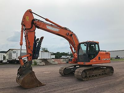 2009 Doosan Dx180 Lc Excavator Fully Loaded Nice Ready 2 Work In Pa!  We Ship!