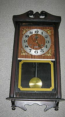 Vintage Wall Clock With Chimes
