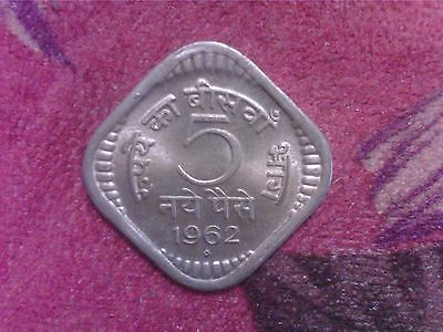 India   5    Paise   1962