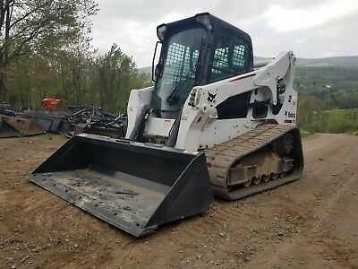 2016 Bobcat T750 Track Skid Steer 767 Hours High Flow 2 Speed Exceptional!!!