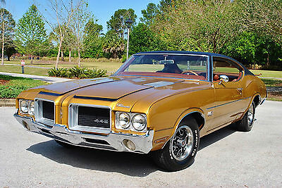 1971 Oldsmobile 442 Real Deal 442! Numbers Matching 455 V8 PS PB 1971 Oldsmobile 442 Numbers Matching 455 Rocket V8 PS PB Original Colors
