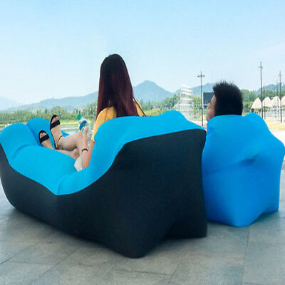 Portable outdoor beach air sofa bed Inflatable pillow for lazy Inflatable sofa