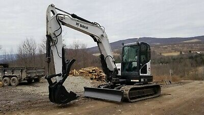 2013 Bobcat E32 Excavator Extendahoe! Cab Heat A/c Ready To Work In Pa! We Ship!