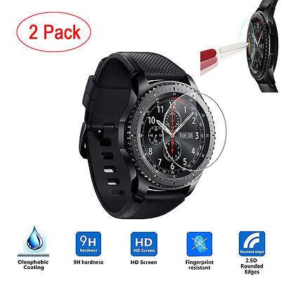 2PCS HD Film Intelligent LCD Screen Protective For Samsung Gear S3 Frontier HOT