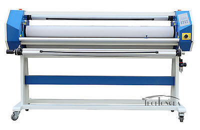 63In Stand Frame Full-auto Single Side Wide Format Hot/Cold Laminator Room~120℃