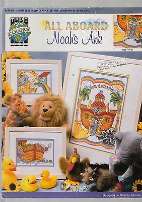 All Aboard Noah's Ark - Cross stitch chart by True Colors - from my stash