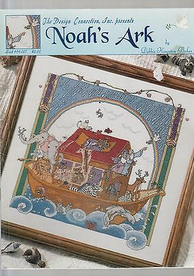 Noah's Ark - Cross stitch chart by The Design Connection - from my stash
