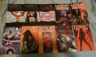 Afterlife with Archie 1 2 3 4 5 6 7 8 9 10 Archie Horror FIRST print BEST OFFER!