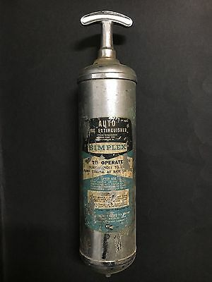 FIRE EXTINGUISHER BY SIMPLEX FROM 1950's