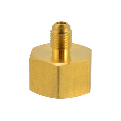 """2x 3/4"""" to 1/4"""" Adapter Reducing Valve for Refrigerant R134a R404a R407c MA1275"""