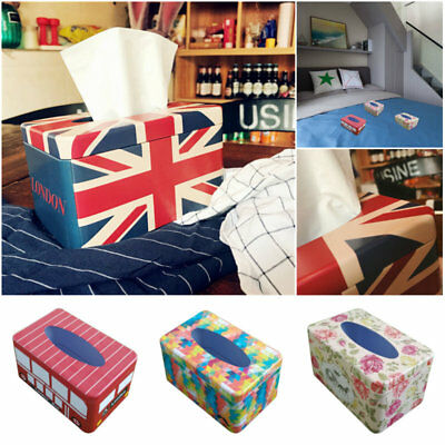 Paper Cover Case Tissue Box Holder Durable Home Office Table Car Toilet Kitchen