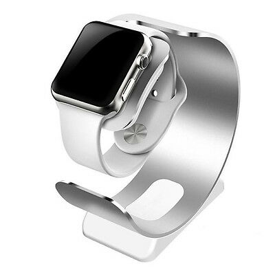 Aluminum Charging Dock Station Charger Holder Stand For Apple Watch 42mm/38mm