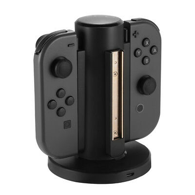 4 Joy-Con Charging Stand Power Charger Dock for Nintendo Switch Controller AC859