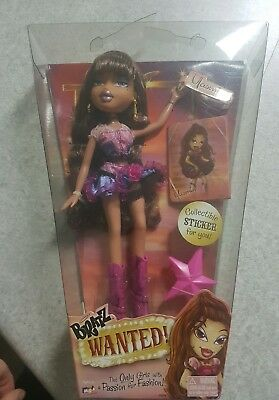 rare bratz wanted doll yasmin mga entertainment new in box