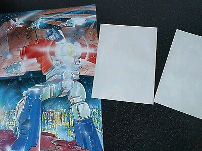 Transformers comic UK issue 320 321 322 Free Gift posters Marvel G1