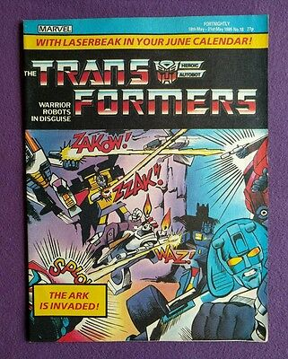 Transformers comic UK issue 18