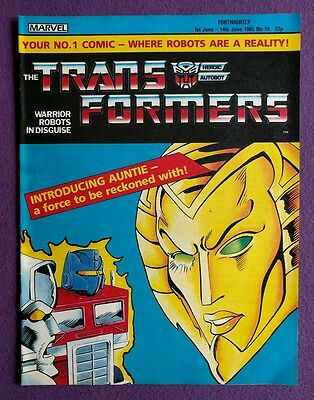 Transformers comic UK issue 19