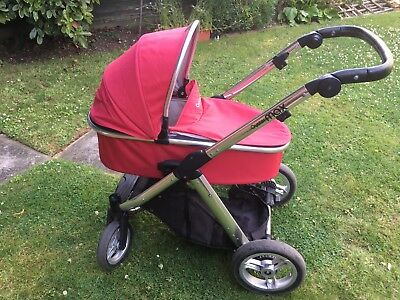 Oyster Max frame & Carrycot