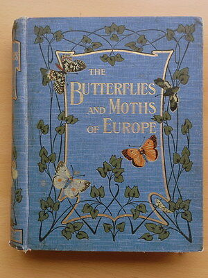 The Butterflies and Moths of Europe: W.F.Kirby. 1907. Hardback.