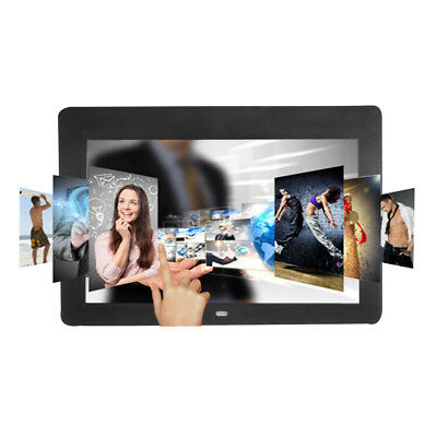 10.1'' HD LCD Digital Photo Frame Picture Album Video Player + Remote Control