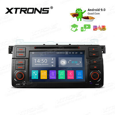 """Android 7.1 7"""" Car Stereo DVD Player GPS 1024x600 HDMI for BMW 3 Series E46+CAM"""