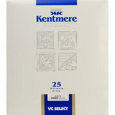 Kentmere 6008200 VC Select Paper, 8x10in, 25 Sheets