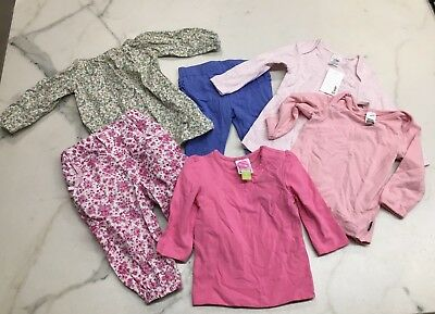 Baby Girls Size 0 Bundle All Items BNWT or Washed and Unworn