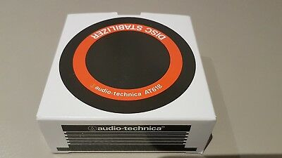 Audio Technica AT618 turntable record weight / plug